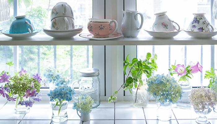 花のある暮らし初心者さんが花を飾る最適な場所とは?