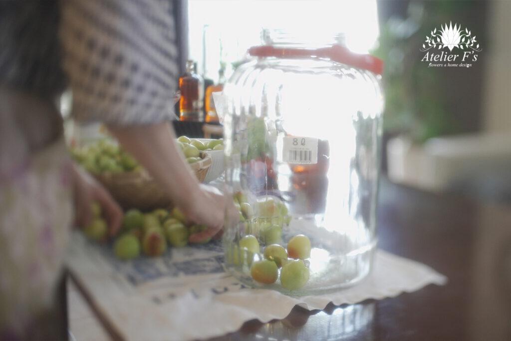 プラム酒の作り方